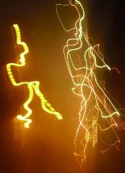 Blitze voller Energie