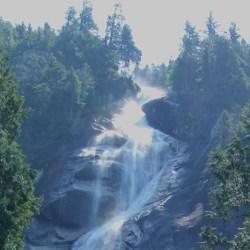 phantastischer Wasserfall